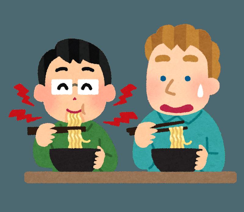 La politesse en mangeant au Japon : slurper ses nouilles