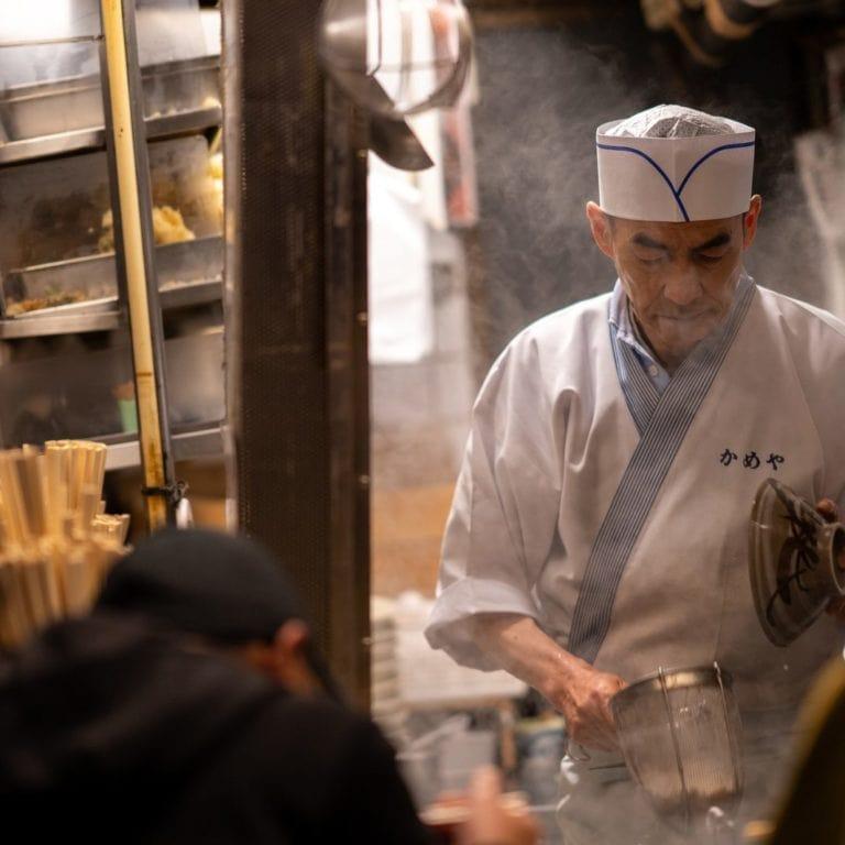 Un chef Japonais