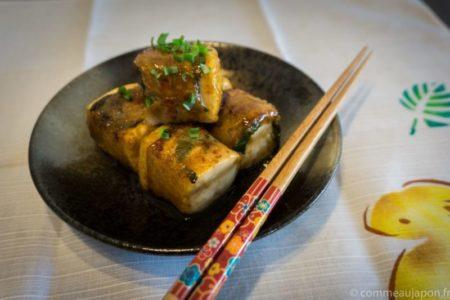 Recette des dés de tofu au porc