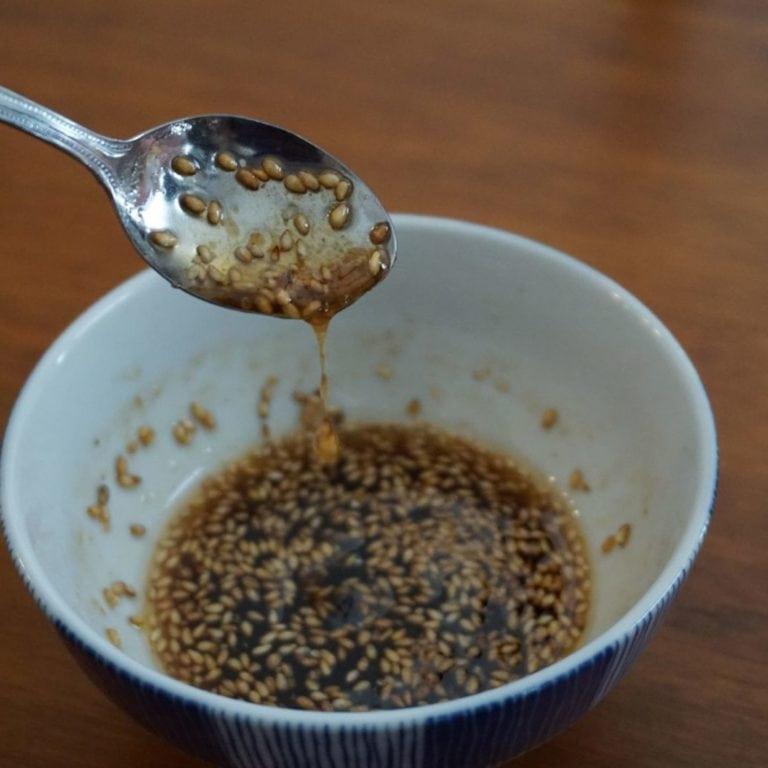Sauce sucrée-salée au sésame