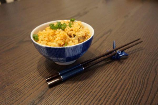 Recette pour Rice Cooker : Riz au Porc et Kimchi