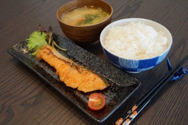 Saumon mariné au miso
