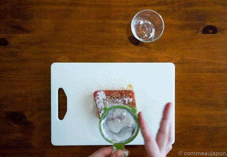 ThonMiCuit Wasabi 1.1.3 Thon juste saisi au sésame et sauce au wasabi
