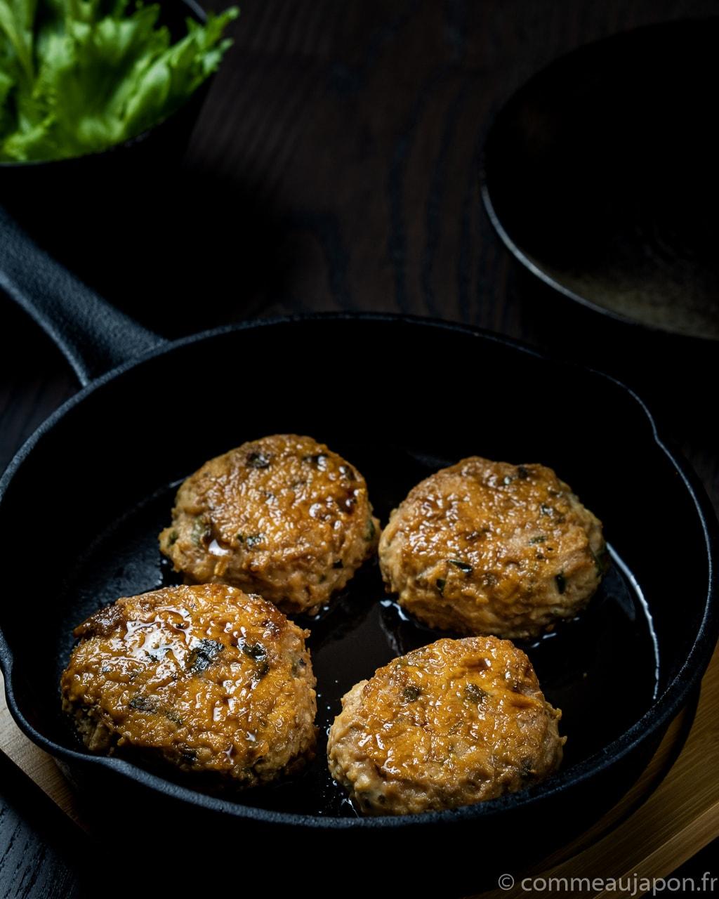 enoki burger profil Burger de poulet et enoki