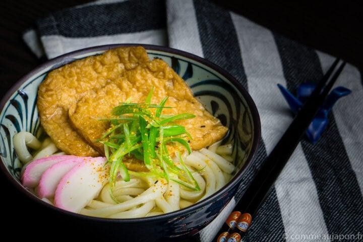 Kitsune Udon – Soupe de udon et tofu frit