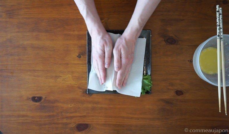 omurice omelette etape 6 Omurice