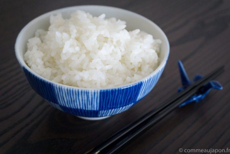 Le riz japonais sans rice cooker