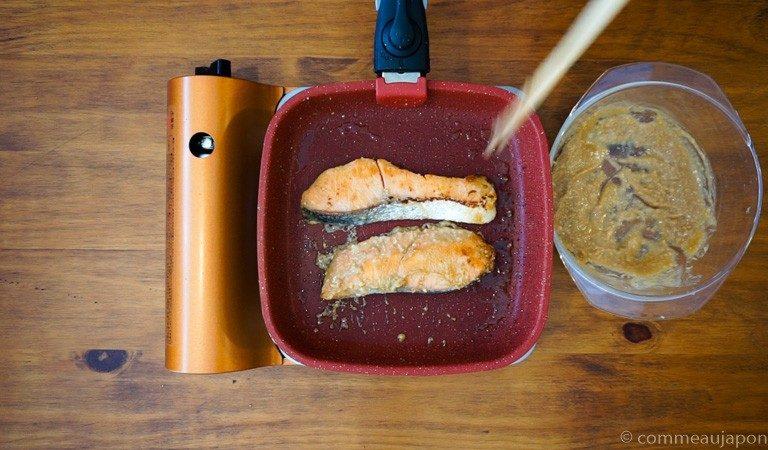 saumon miso 1.4.1 Saumon mariné au miso