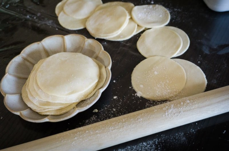 La pâte à Gyozas - Feuilles à gyozas