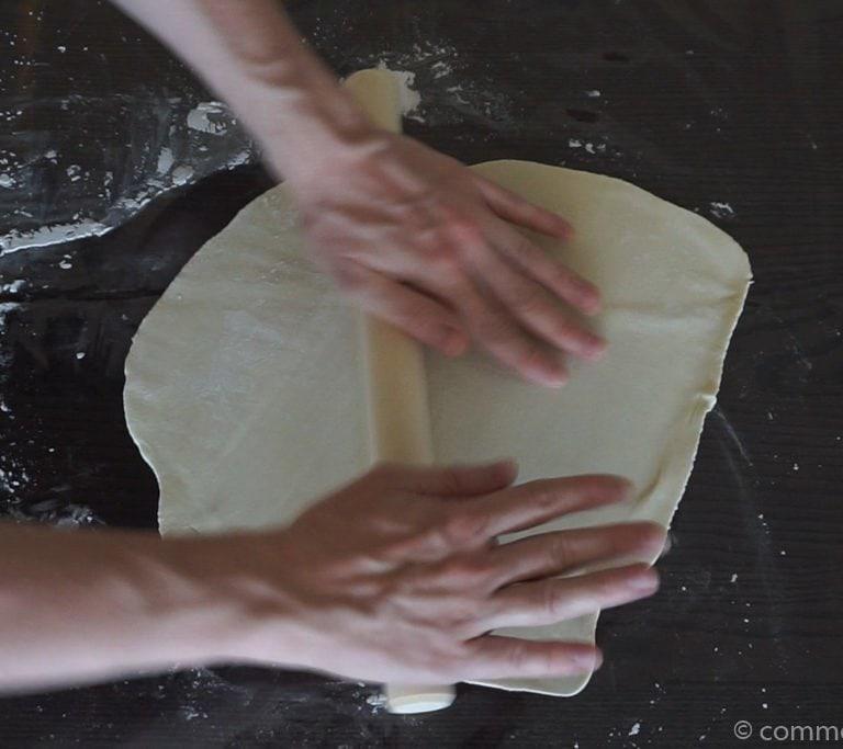 Gyozas Feuilles etape 5 La pâte à gyozas - Feuilles à gyozas