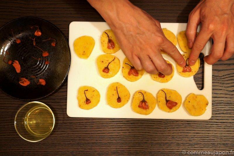 Recette des sablés sakura : Etape 10