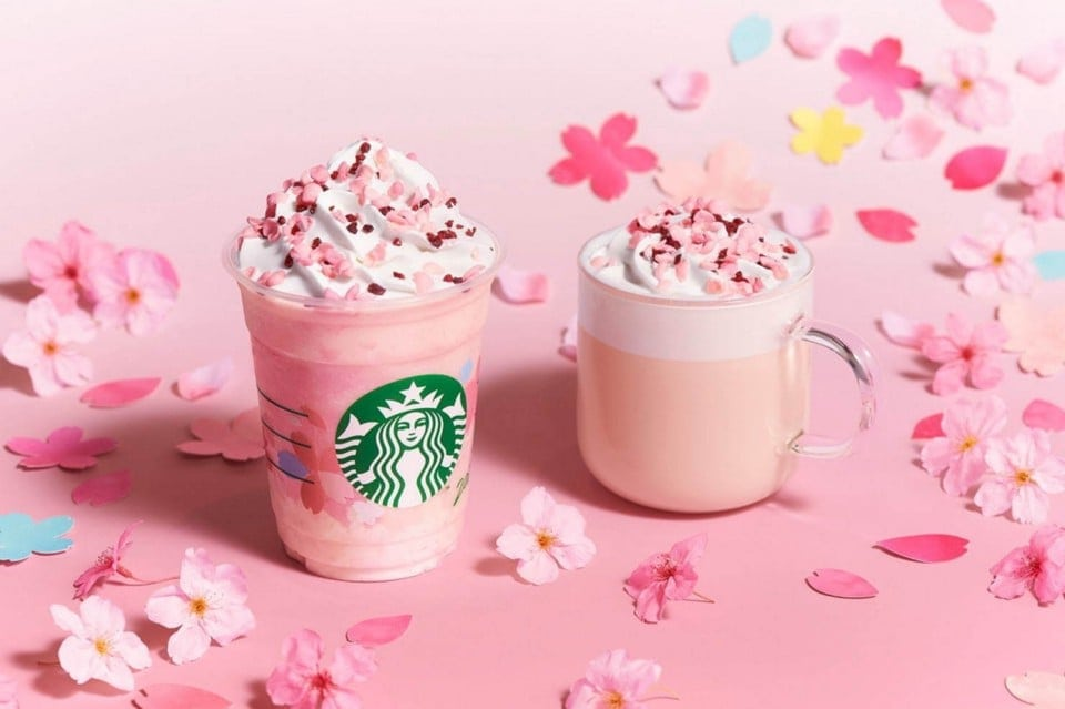 Spécialité Starbuck Sakura