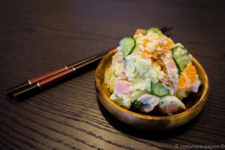 La recette de la salade de pommes de terre à la japonaise