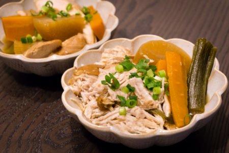 La Recette du poulet façon Oden au Rice Cooker