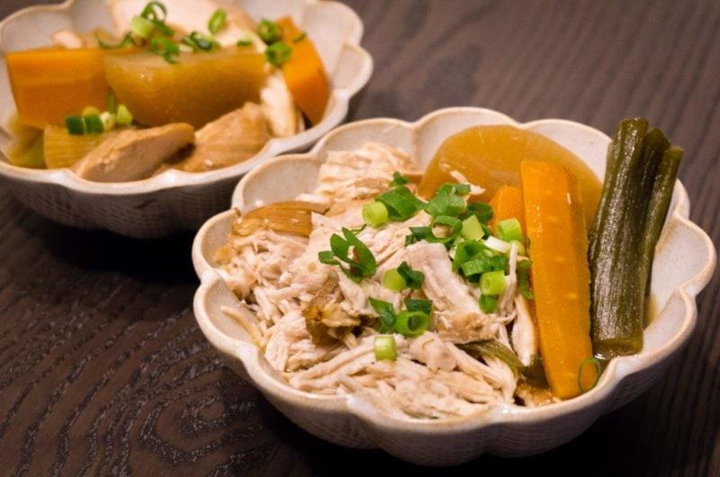 Recette pour Rice Cooker : Pot-au-feu de poulet japonais
