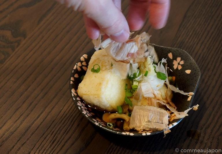 agedashitofu final Tofu frit japonais - Agedashi-doufu