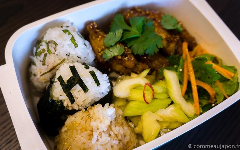 tebasaki bento Tebasaki - Ailes de poulet sauce soja caramélisée et graines de sésame