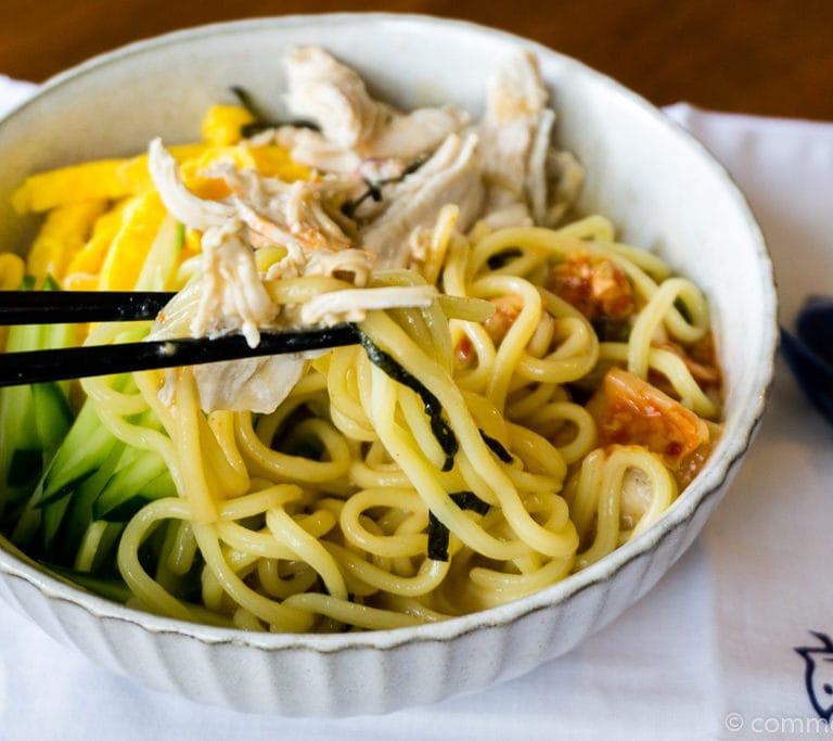DSC00053 1 Ramen Froid - Hiyashi chuka - Reimen 冷麺