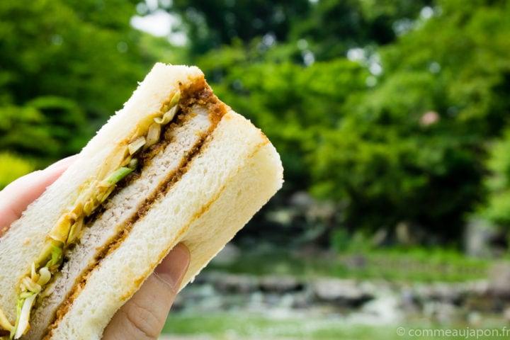 Sandwich japonais au porc pané – Katsu Sando – カツサンド