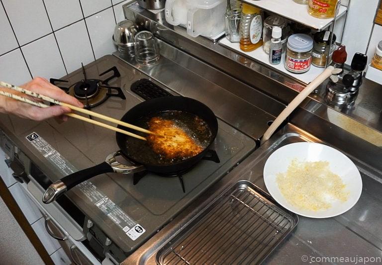 katsusando etape 4 Sandwich japonais au porc pané - Katsu Sando - カツサンド