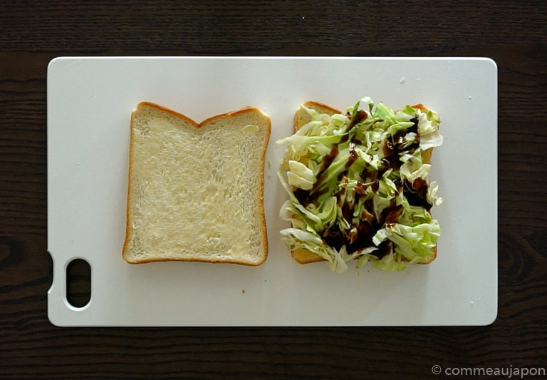 katsusando etape 7 Sandwich japonais au porc pané - Katsu Sando - カツサンド