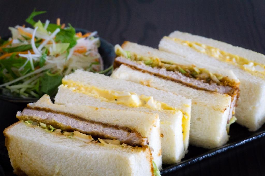 tamago sando sandwich oeufs japonais titre 2 Sandwich japonais au porc pané - Katsu Sando - カツサンド