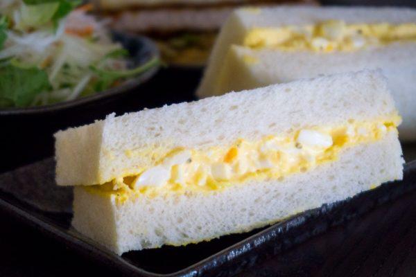 Sandwich japonais aux oeufs – Tamago Sando