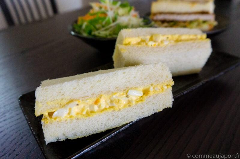 Sandwich japonais aux oeufs - Tamago Sando