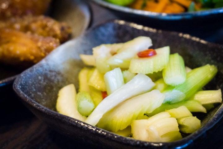 Tsukemono – Amasuzuke – Pickles japonais de céleri