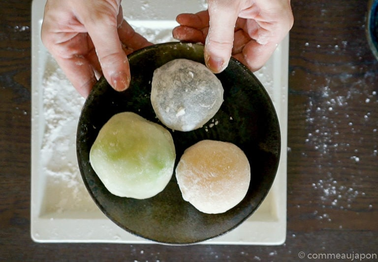 daifuku recette etape fin Daifuku Mochi aux fruits