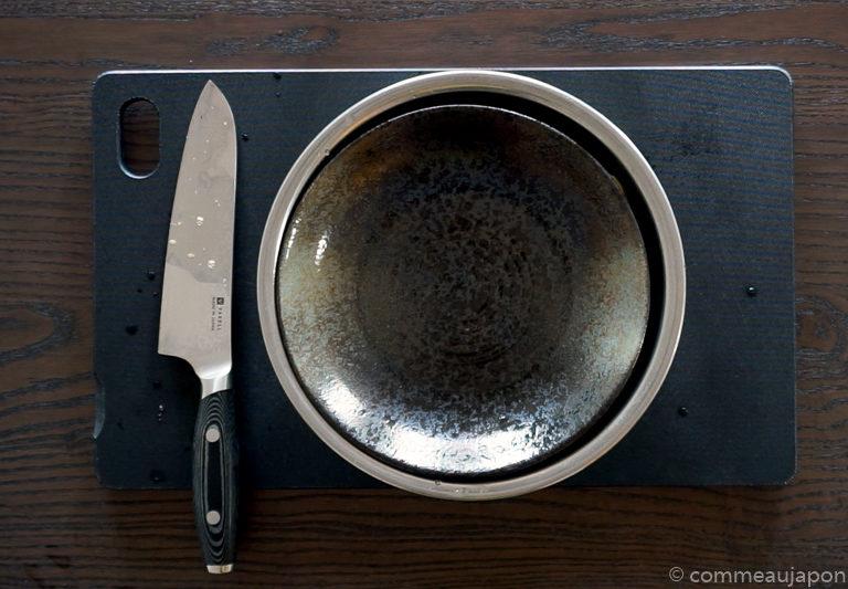 dengaku etape 3 Aubergine sauce miso - Nasu Miso Dengaku - なす味噌田楽
