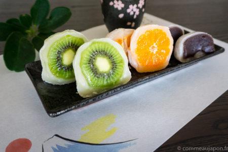 Daifuku mochi au fruits