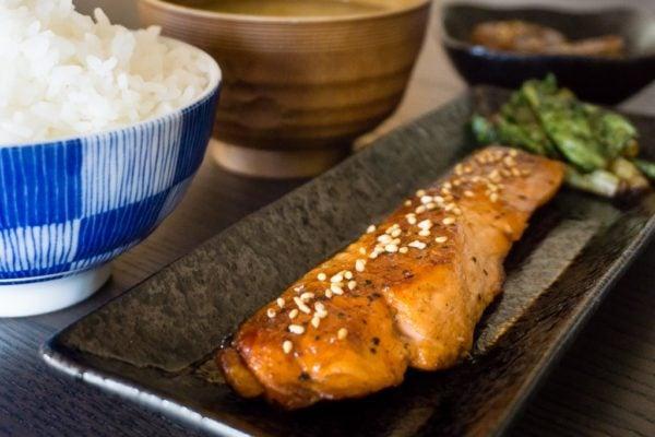 Saumon Teriyaki – Sake no Teriyaki – 鮭の照り焼き