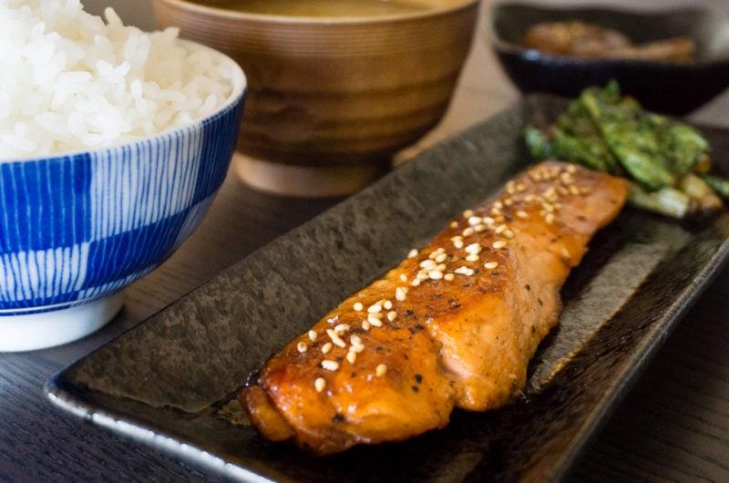 Saumon Teriyaki - Sake no Teriyaki - 鮭の照り焼き
