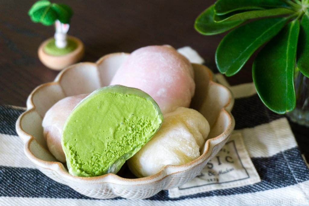mochi glace finale recette Mochi glacé - Boules de glace et mochi !