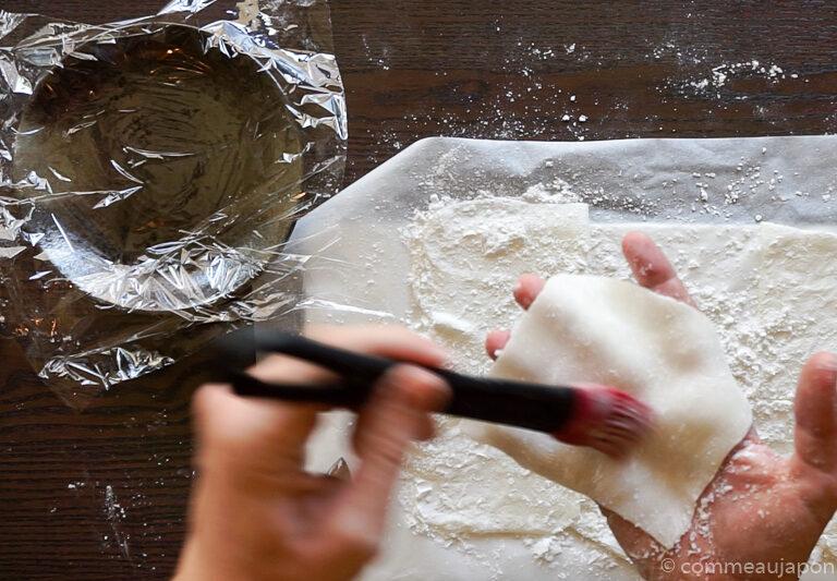mochiglaces etape 8 Mochi glacé - Boules de glace et mochi !
