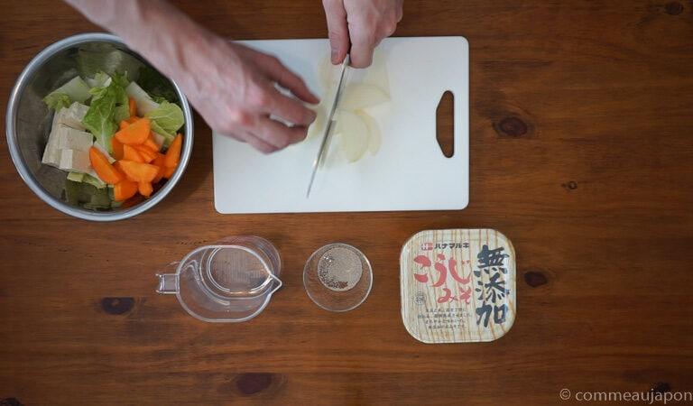 20200304 Untitled 1.4.1 Soupe Miso aux légumes