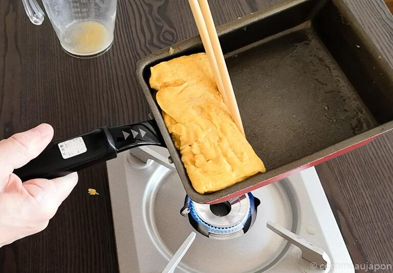 dashimaki 1.10.11 Dashimaki - L'omelette roulée japonaise - Tamagoyaki