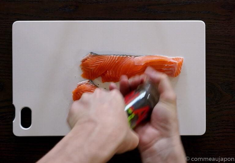 ep1 1.61.1 1 Saumon Teriyaki - Sake no Teriyaki - 鮭の照り焼き