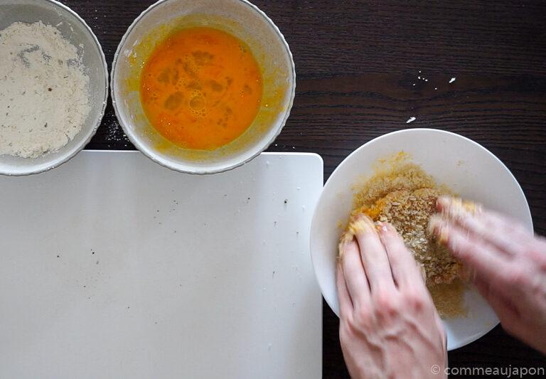 katsusando etape 3 2 Sandwich japonais au porc pané - Katsu Sando - カツサンド