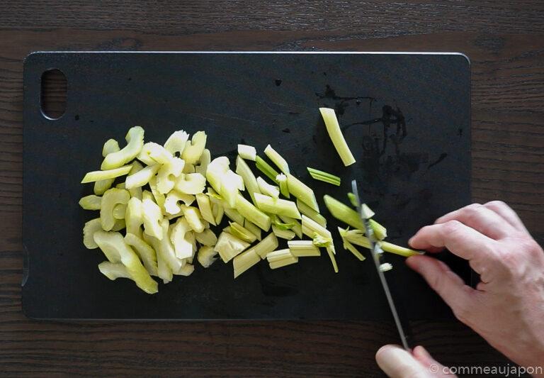tsukemono 1.3.1 Tsukemono - Amasuzuke - Pickles japonais de céleri