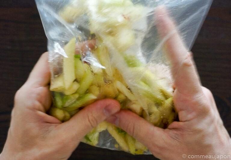 tsukemono 1.4.1 Tsukemono - Amasuzuke - Pickles japonais de céleri