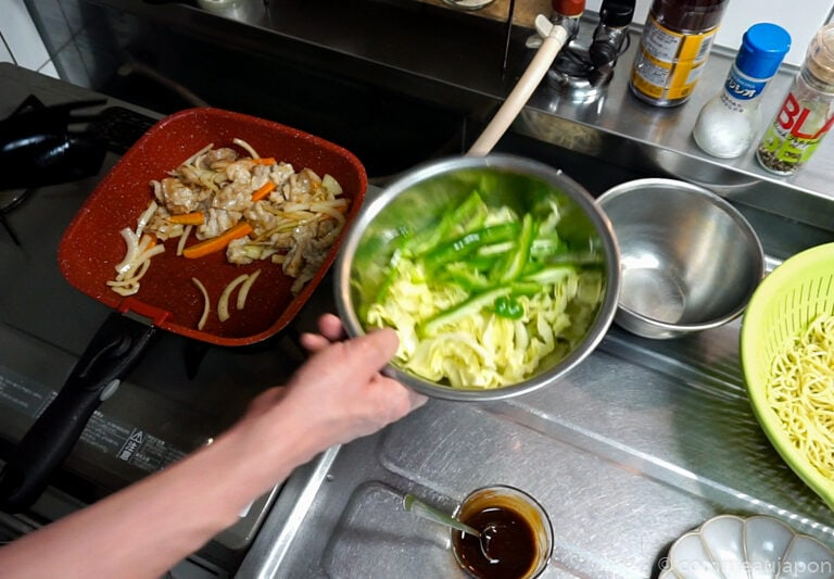 yakiSoba 1.39.1 Yakisoba - Nouilles japonaises sautées au porc et légumes - 焼きそば