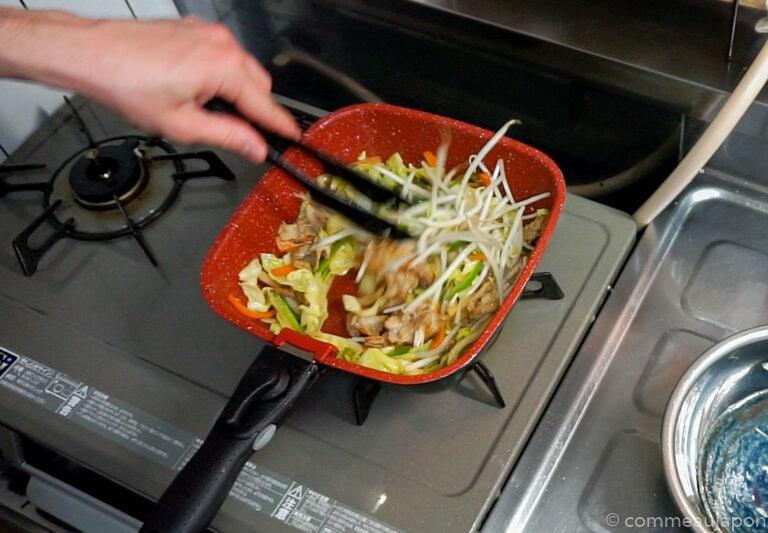 yakiSoba 1.42.1 Yakisoba - Nouilles japonaises sautées au porc et légumes - 焼きそば