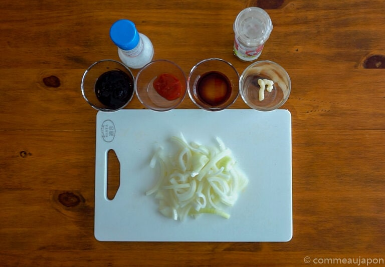 yakiSoba 1.5.1 Yakisoba - Nouilles japonaises sautées au porc et légumes - 焼きそば