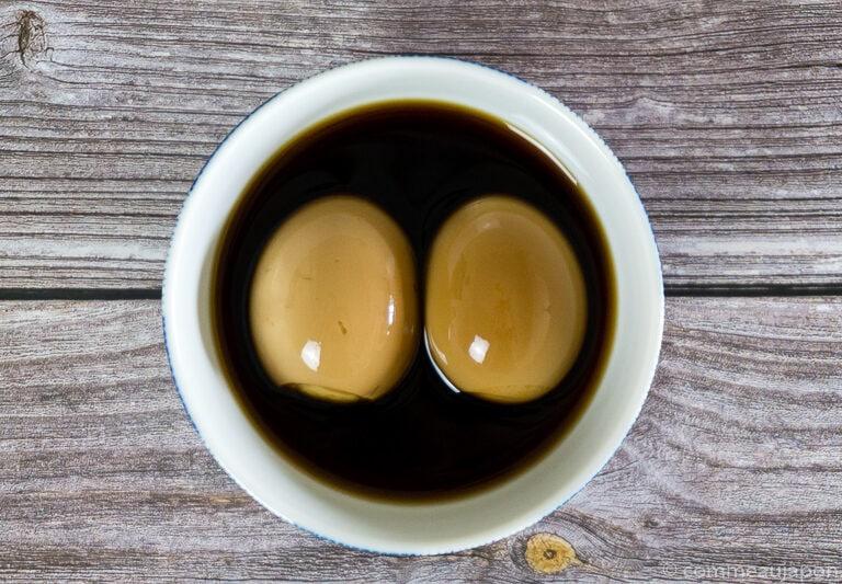 ajitama 7 Œufs à ramen - Ajitsuke Tamago - 味付け玉子