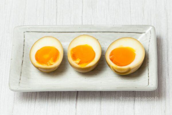 Œufs à ramen – Ajitsuke Tamago – 味付け玉子