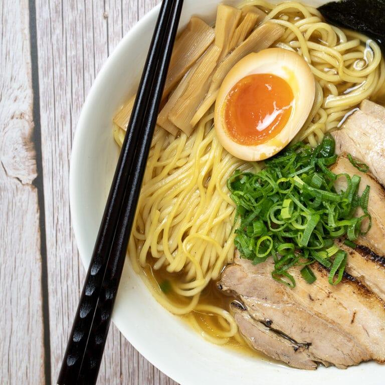 Shoyu Ramen – Ramen sauce soja – 醤油ラメーン