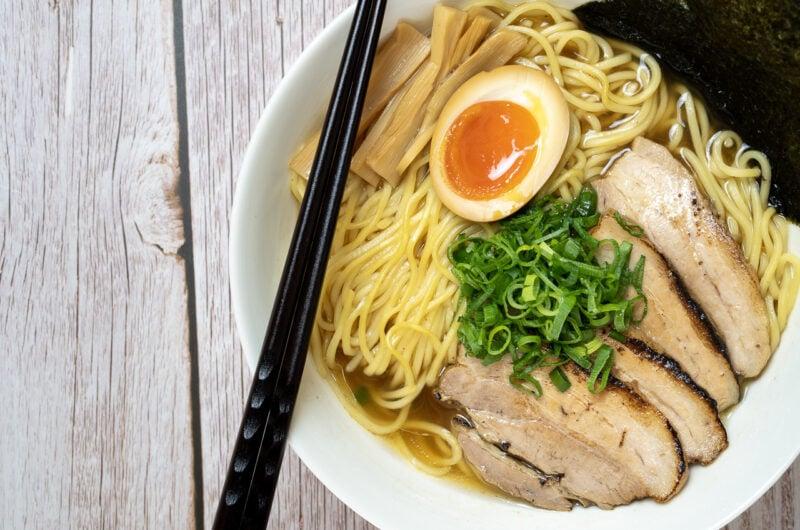 Shoyu Ramen - Ramen sauce soja - 醤油ラメーン