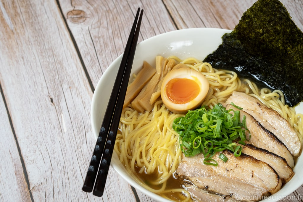 recette du shoyu ramen, le ramen sauce soja